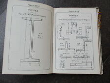 1924 FRANCE MEURTHE ET MOSELLE , POMPEY STEEL WORKS , RAILWAY EQUIPMENT