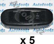 5 x 12V IN-LINE CABLE ON-OFF SLIDE SWITCH BLACK light lamp car caravan inline