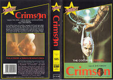 Crimson - The color of terror (1985) VHS STARDUST