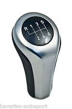 BMW Genuine Leather 6 Speed Gear Stick Shift Knob E60/E61/E63/E64/E85/E86