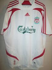 Liverpool 2007-2008 Away Football Shirt med adult kop ynwa Medium /15904