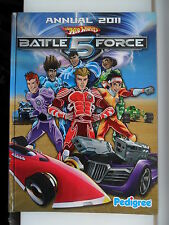 HOT WHEELS BATTLE FORCE 5 ANNUAL 2011 HARDBACK BOOK ISAAC AGURA VERT TAKAZUMI SA