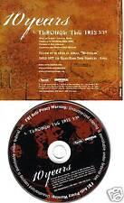10 YEARS Through The Iris RADIO PROMO DJ CD Single 2006