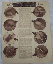 Article,Voyage,Petite pharmacie,Fer électrique,remorque vélo,,1938,clipping