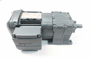 Sew Eurodrive R17 DRS71S4 Gearmotor 241rpm 3ph 0.5hp 277/480v-ac
