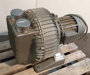 Seitenkanalverdichter, Vakuum Pumpe Rietschle SKP 49042-04 230mbar 11kw