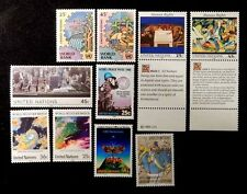 United Nations New York complete year  1989 MNH 546-571