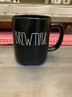 Rae Dunn By Magenta - LL BREWTIFUL - Black Ceramic Coffee Mug