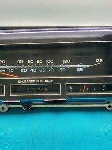 1978 - 1982 Oldsmobile Cutlass Gbody Speedo Instrument Cluster Gauge KMH OEM GM