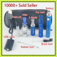US SHIP 4 in 1 Kit EVOD2 1100Amh 1Vape² pen O-pen Dab², 0Dry Herb², 0Wax² Coils