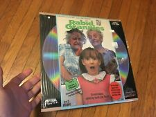 RABID GRANNIES - Laserdisc - Troma Horror Film - 1988 MEDIA / IMAGE oop rare