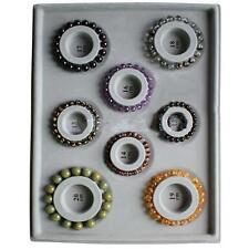 DIY Craft Flocked Cloth Beading Bracelet Bead Board Tray Design Jewellery Tool