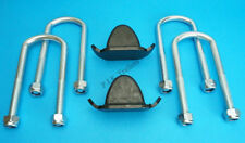 Axle U Bolts 130mm & Bump Stop TWIN Leaf Spring Ifor Williams Trailer Horse Box