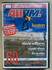 4IIVM DVD 10 Years of Skateboards Skating Skateboarding Movie 4 Disc Set