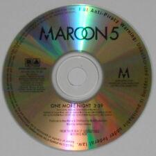 Maroon 5 - One More Night - original 2012 U.S. promo cd