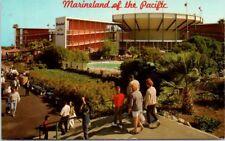 California Postcard Marineland of the Pacific Palos Verdes CA People Roadside