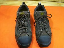 MENS SIZE 12 CATERPILLAR CAT SAFETY Toe Work Oxford LOW TOP SHOE Leather