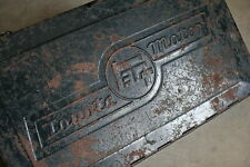Vintage Toyota TEQ Tool Box