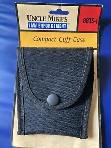 """UNCLE MIKE'S COMPACT CORDURA CUFF CASE 8835-1 BELTS UP TO 2.25"""" NEW"""