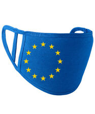 EU Europe Stars Face Cover - PR799 Royal Blue Yellow Brexit Remain