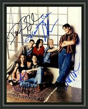 FRIENDS CAST TV SERIES  A4 SIGNED AUTOGRAPHED PHOTO POSTER  FREE POST