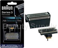 Braun Series 3 31B - 5000/6000 Contour, Flex XP, Flex Integral Foil & Cutter Set