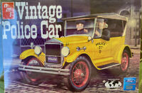 AMT RC2 #38679-1HD 1:25 Vintage Police Car {1927 Model T Ford} Factory sealed