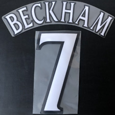 BECKHAM 7 Manchester United Football Shirt Name Set Number Nameset Transfer 1999