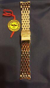 Breitling Navitimer World STAINLESS STEEL 24mm Bracelet Band Strap 100%Authentic