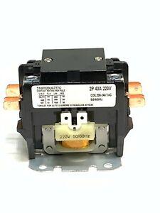 CONTACTOR DEFINITE PURPOSE 2 POLE 40A  208 / 220V / 240V AC COIL