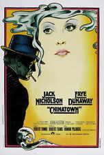 Chinatown Movie Poster Italian 27x40 Roman Polanski Jack Nicholson Faye Dunaway