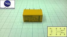 Relè 24V, Relay 24Vdc, circuito stampato, 2 contatti, 1A, HRS2H-S-DC24V-N