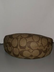 Coach Hard Shell Clam Brown Large C Sunglass Case
