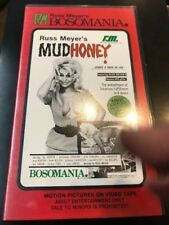 RARE RUSS MEYER MUDHONEY VHS EXPLOITATION CULT MONDO FASTER PUSSYCAT BOSOM ANIA