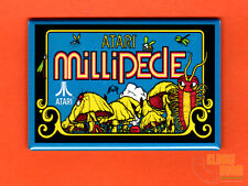 "Millipede arcade art 2x3"" fridge/locker magnet arcade Atari Irish cab"