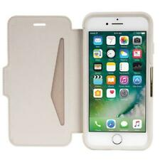 OTTERBOX STRADA LEATHER CARD FOLIO SOLID SLIM THIN CASE FOR IPHONE X - SOFT OPAL