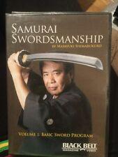 Samurai Swordmanship Volume 1: Basic Sword Program DVD ISBN 9781581334432