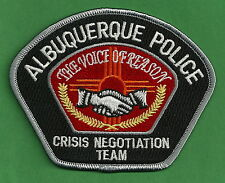 ALBUQUERQUE NEW MEXICO POLICE CRISIS NEGOTIATION TEAM PATCH