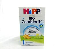 (24,15€/kg) 600g HIPP ORGANIC Combiotik Newborn Feed 1 Use from birth