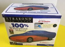"""NEW XTRABOND WATERPROOF CAR PROTECTOR COVER /CABLE LOCK 15' 1"""" - 16' (458-488cm)"""