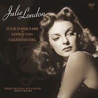 JULIE LONDON - JULIE IS HER NAME/LONELY GIRL/CALENDAR GIRL   2 VINYL LP NEW