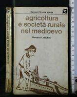 AGRICOLTURA E SOCIETA' RURALE NEL MEDIOEVO. Giovanni Cherubini. Sansoni.