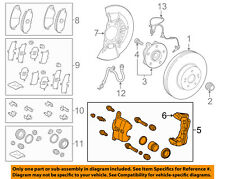 TOYOTA OEM 2018 Camry FRONT-Caliper Assembly 4775006320