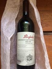 red wine Penfolds Cabernet Sauvignon BIN 707 1997