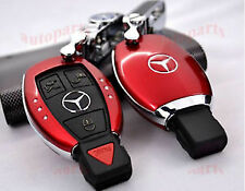 Mercedes RED Key FOB Cover CLK, CLS, G,E,A series