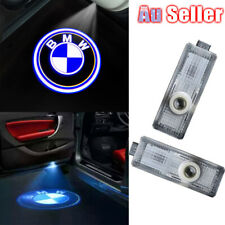 2 Cree Projector Courtesy Lamp Shadow Puddle Door For BMW Logo LED M Laser Light