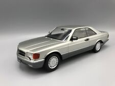 Mercedes 560 SEC (C126) 1985 silber - 1:18 KK-Scale  *NEW*