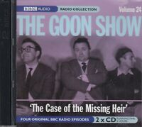 The Goon Show Volume 24 Case of the Missing Heir 2CD Audio BBC Radio Comedy