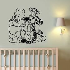 Disney Wall Decal Winnie the Pooh Vinyl Sticker Cartoon Art Baby Room Decor wt7
