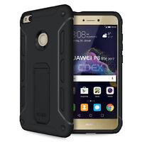 Ultra Kickstand Case Huawei P8 Lite 2017 Ständer Aufstellbar Schutz Hülle Folie